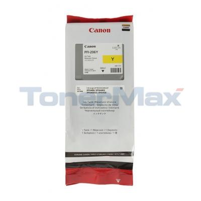 CANON PFI-206Y INK TANK PIGMENT YELLOW 300ML